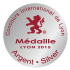 2016 Medalha de prata - Concours International de Lyon