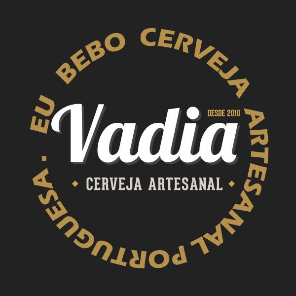 COVID19 Logo Vadia com mensagem de consumo de cerveja artesanal portuguesa